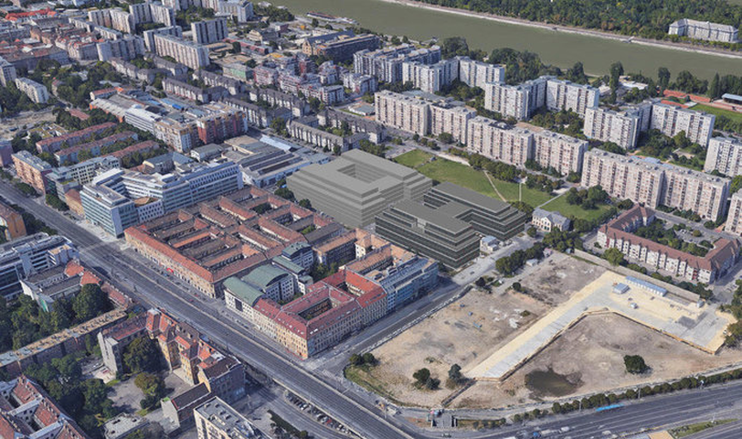 Hatalmas, új projekt épülhet az Árpád hídnál