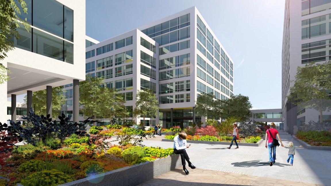 Új irodaház épül Dél-Budán
