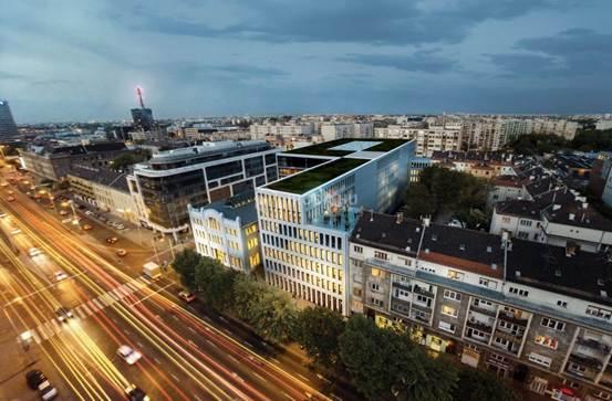 Belvárosi irodaházak – Budapest legjobb lokációi
