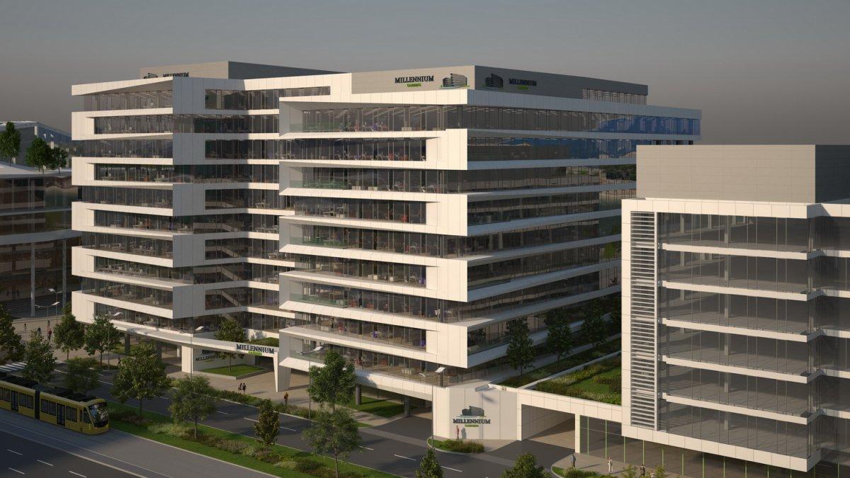 Új irodaház a Duna-parton