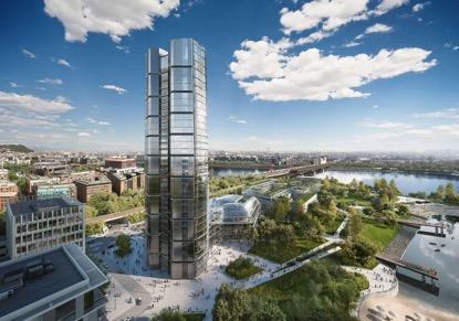 Világhírű cég tervezi a MOL felhőkarcolóját a Kopaszi-gáton