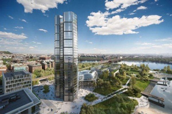 MOL Kopaszi-gátra tervezett új épületegyüttese